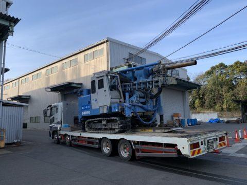 滋賀県某工場内 SSコラム工法