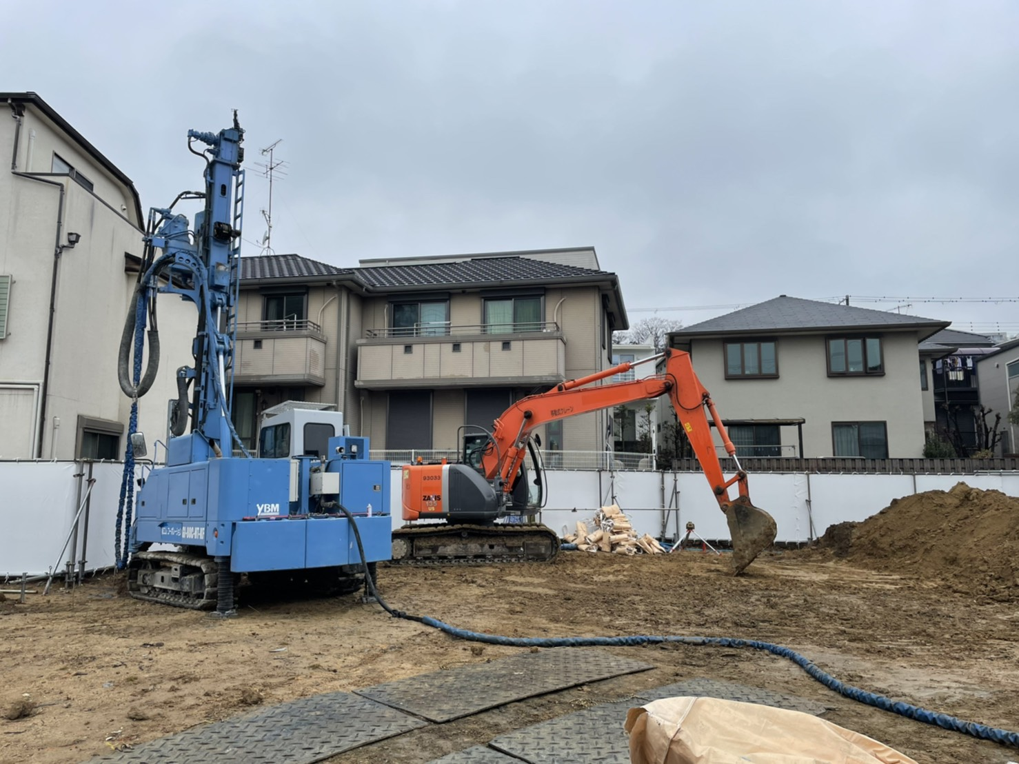 兵庫県芦屋市SSコラム工法