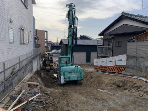 京都府宇治市SSコラム工法