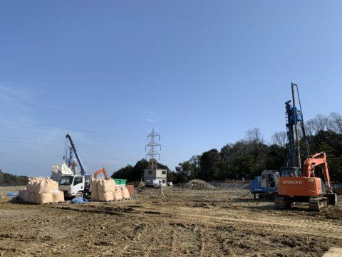 三重県某工場内SSコラム工法