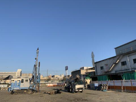宇治市某工場増設工事SSコラム工法