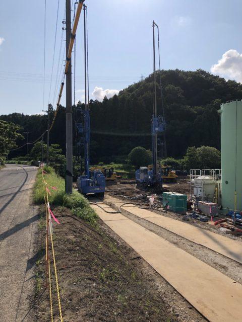 兵庫県豊岡市GIコラム工法