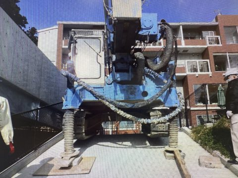 六甲某ホテル増築工事