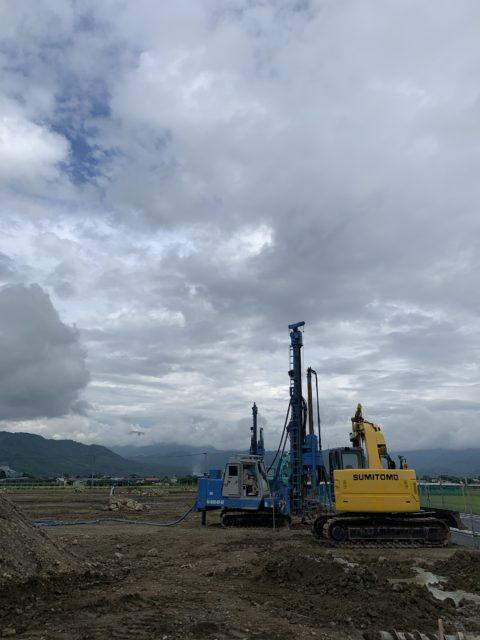 山形県上山市某現場 DHJー15 GI-80C 地盤改良工事