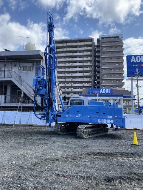 滋賀県某新築工事