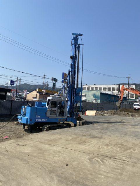 滋賀県大津市 某増築工事    GI-80現場