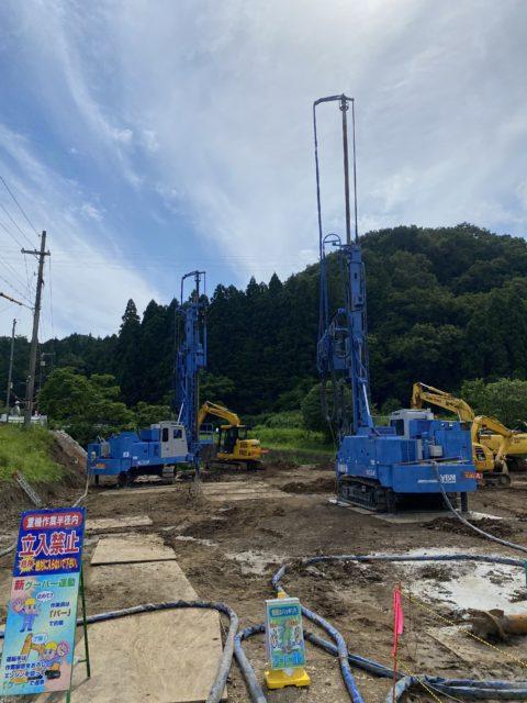 兵庫県豊岡市GIコラム工法 GI-130