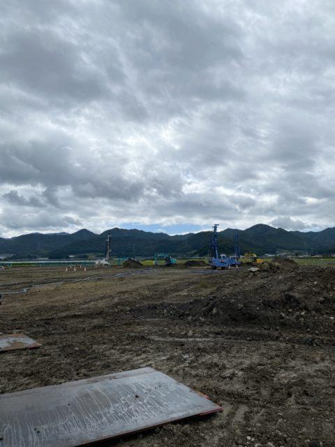 山形県上山市某現場 DHJ-15       GIー80C  地盤改良現場