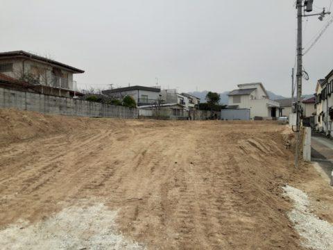 大阪府寝屋川市某プロジェクト現場、柱状改良SSコラム工法。