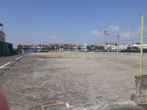 京都府宇治市某工場柱状改良現場