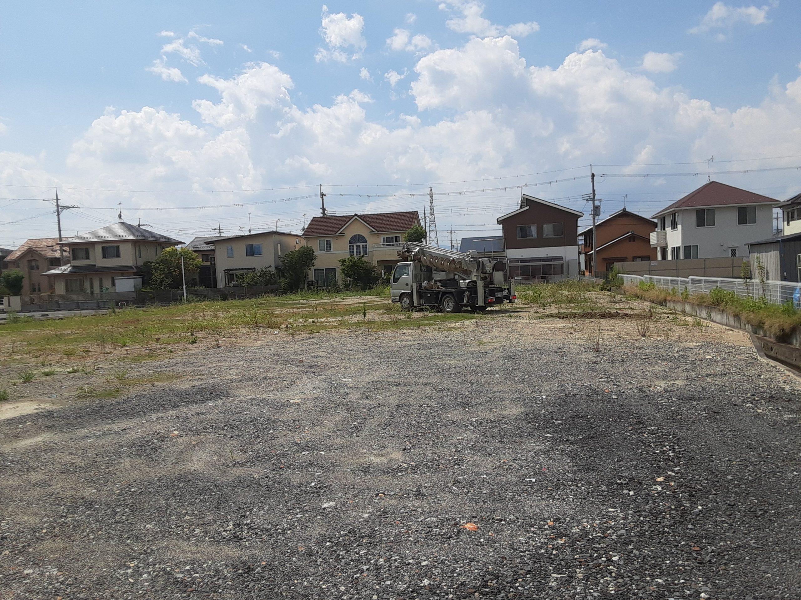 滋賀県守山市某柱状改良現場