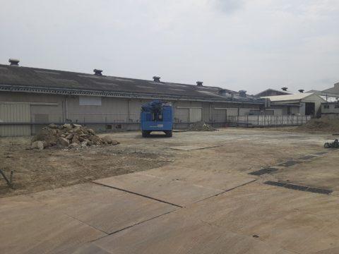 三重県上野市某柱状改良現場