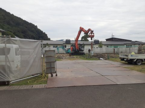 福井県小浜市某柱状改良現場
