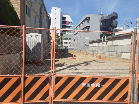大阪市平野区柱状改良現場