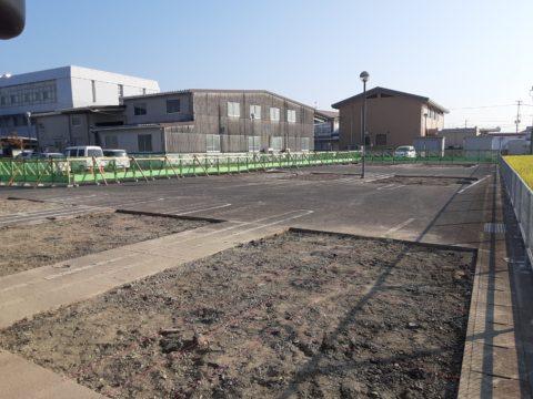 佐賀県小城市柱状改良現場