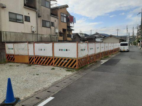 京都市山科区某柱状改良現場